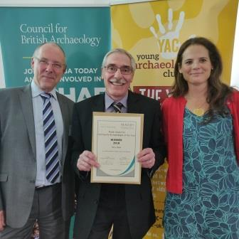 Barry Mead Comm Archaeologist award 2